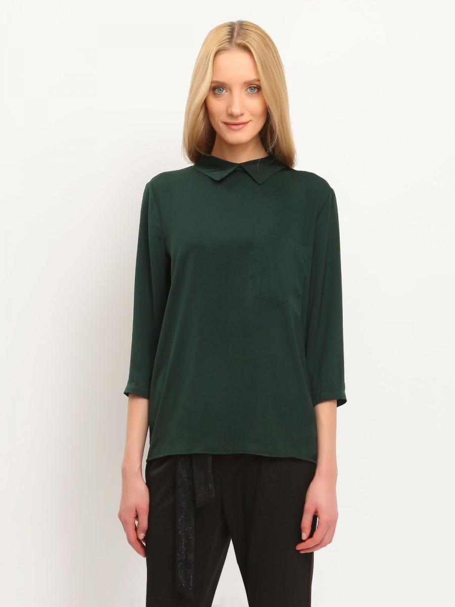 Top Secret Košile dámská 3/4 rukáv - Zelená - velikost 34