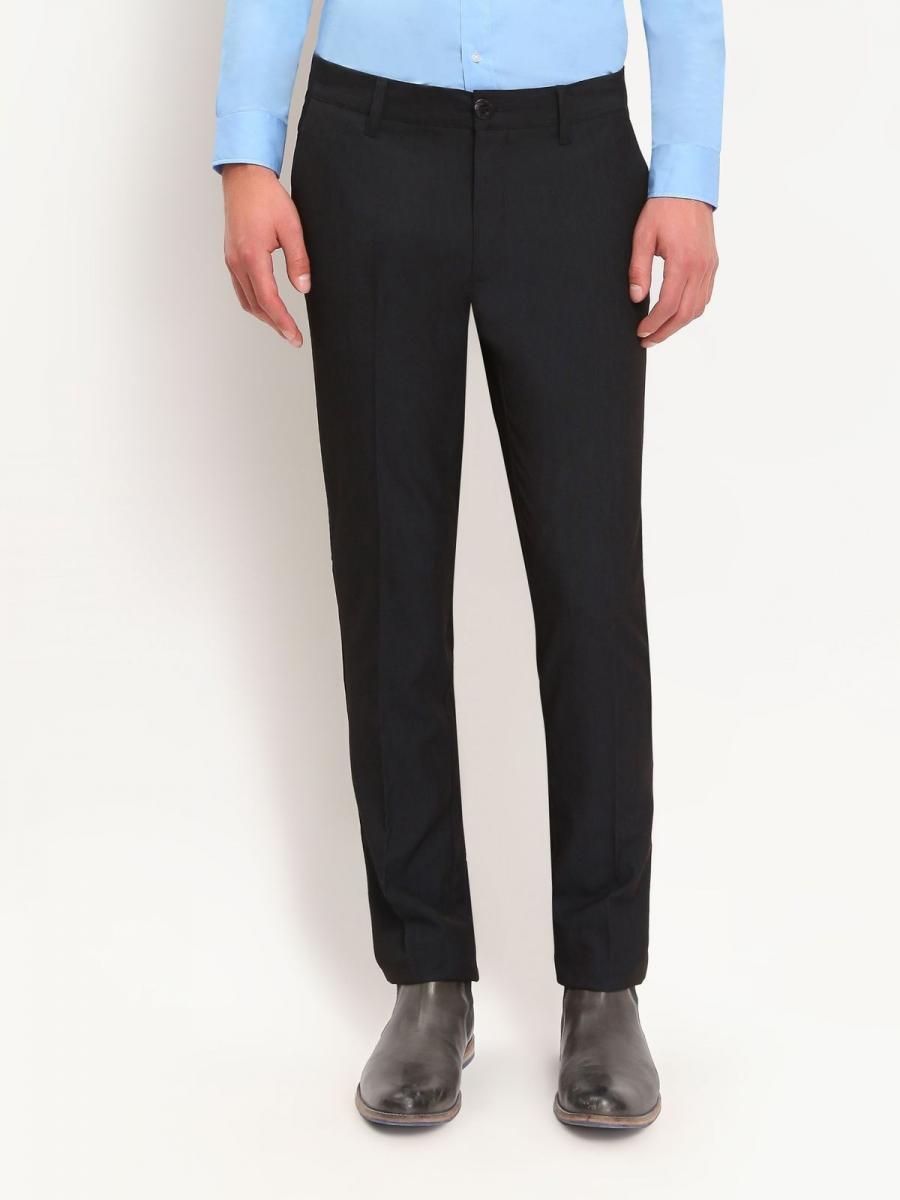 Top Secret Kalhoty pánské společenské - černá - velikost 31