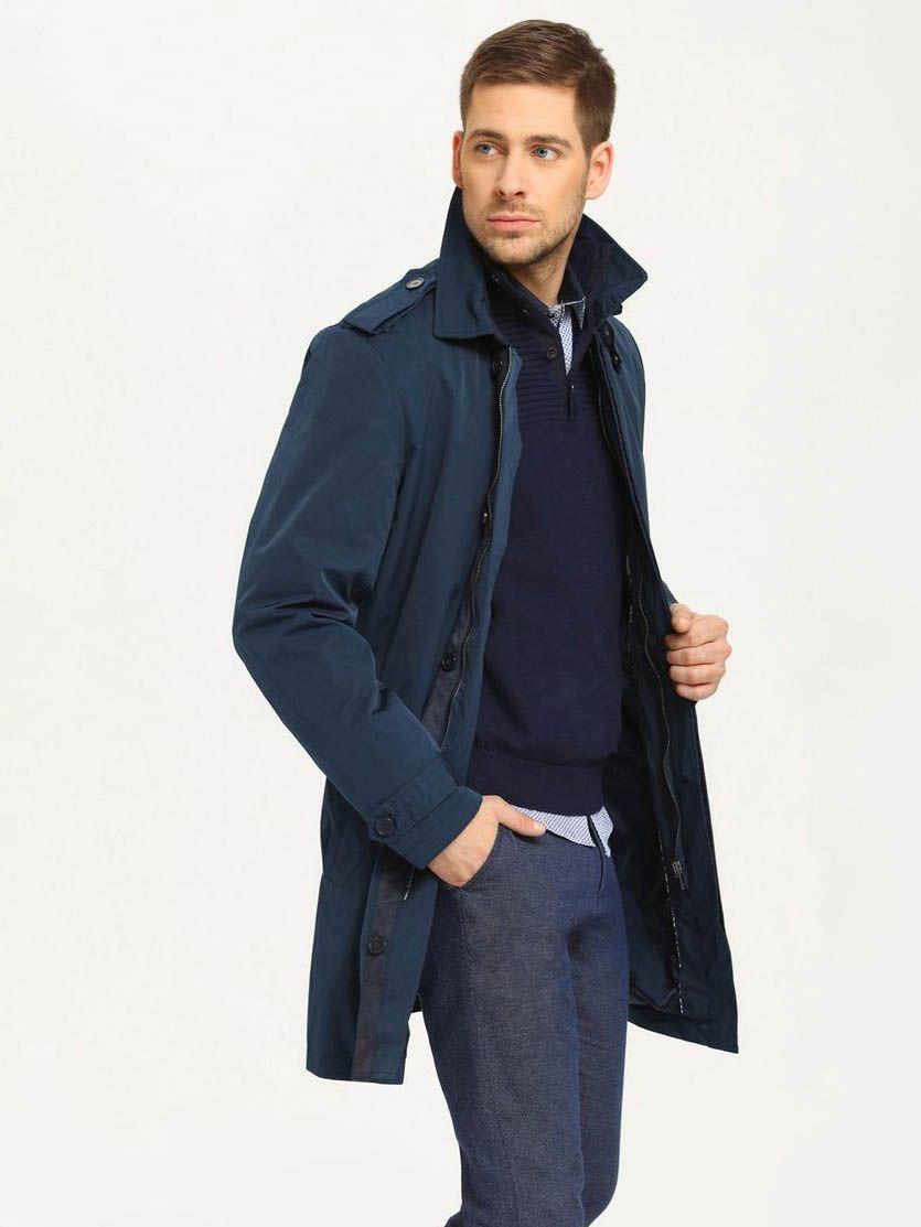 Top Secret Kabát pánský - Tmavě modrá - velikost XXL