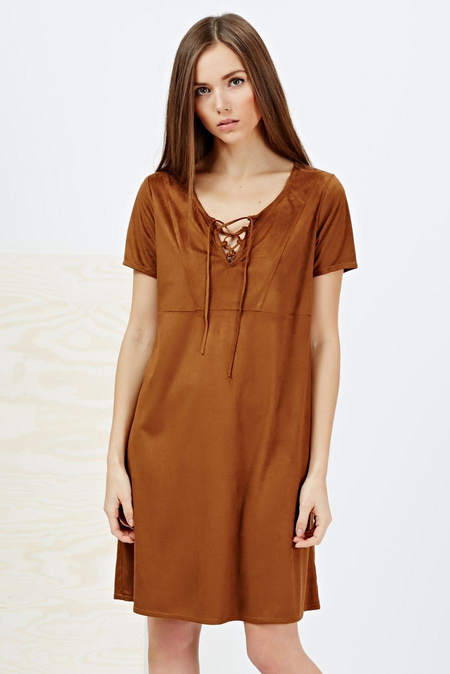 Moodo šaty dámské krátký rukáv