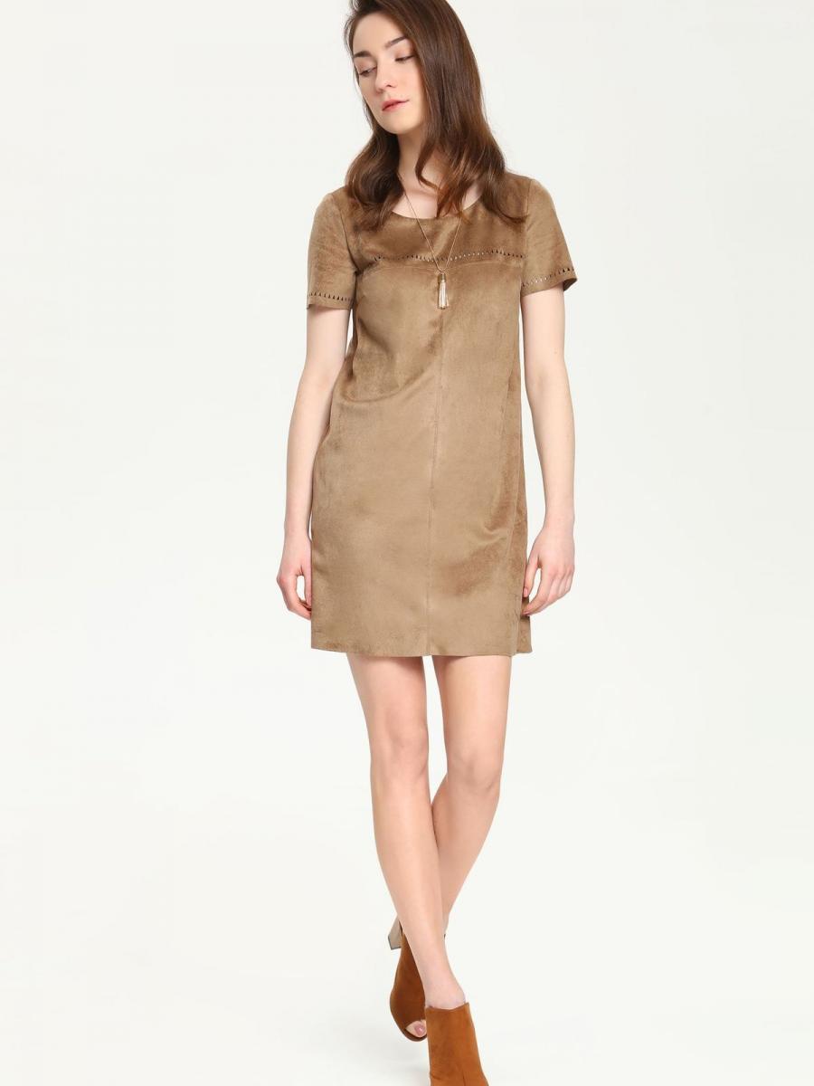 Top Secret šaty dámské krátký rukáv