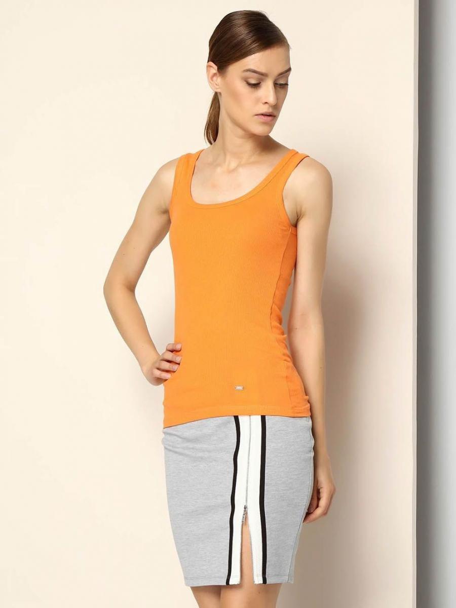 Top Secret Tílko dámské - Oranžová - velikost S