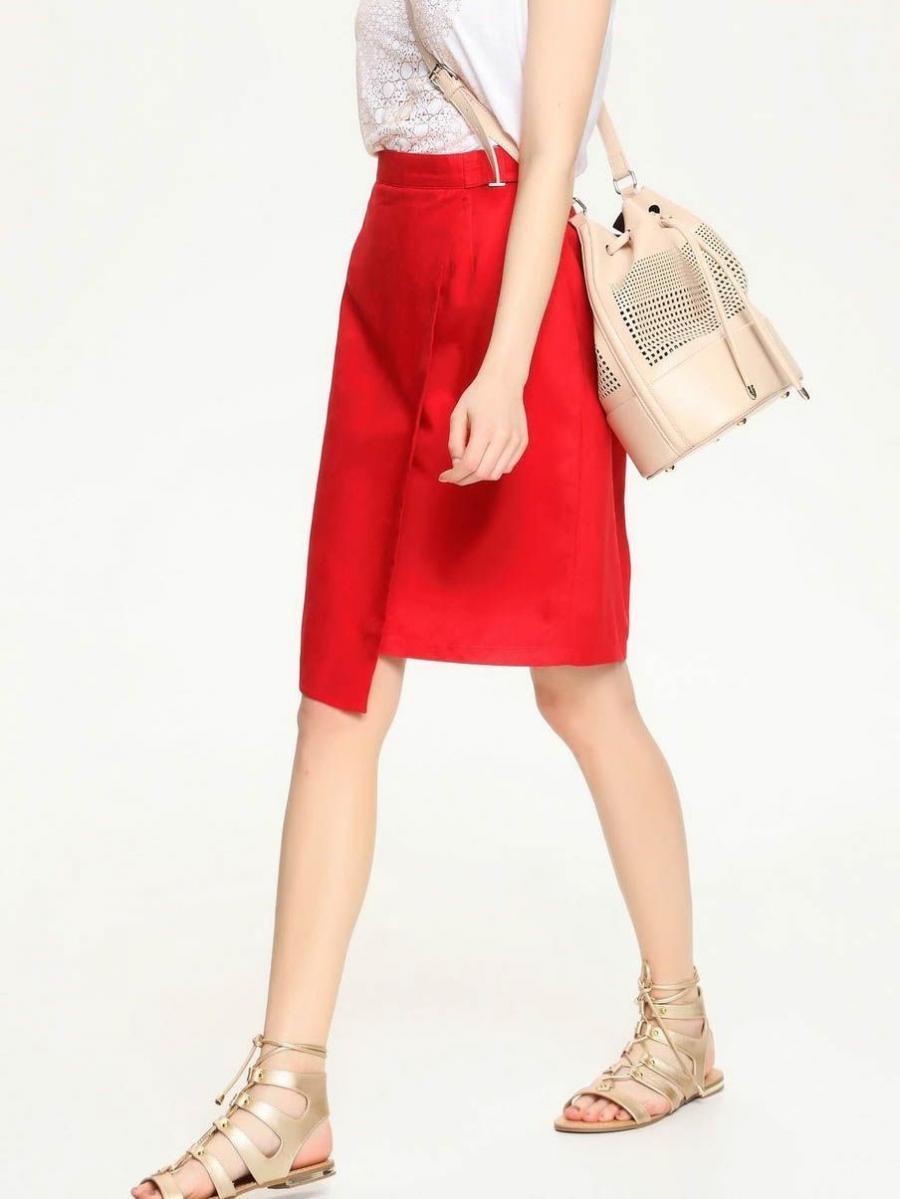 Top Secret Sukně dámská - červená - velikost 34