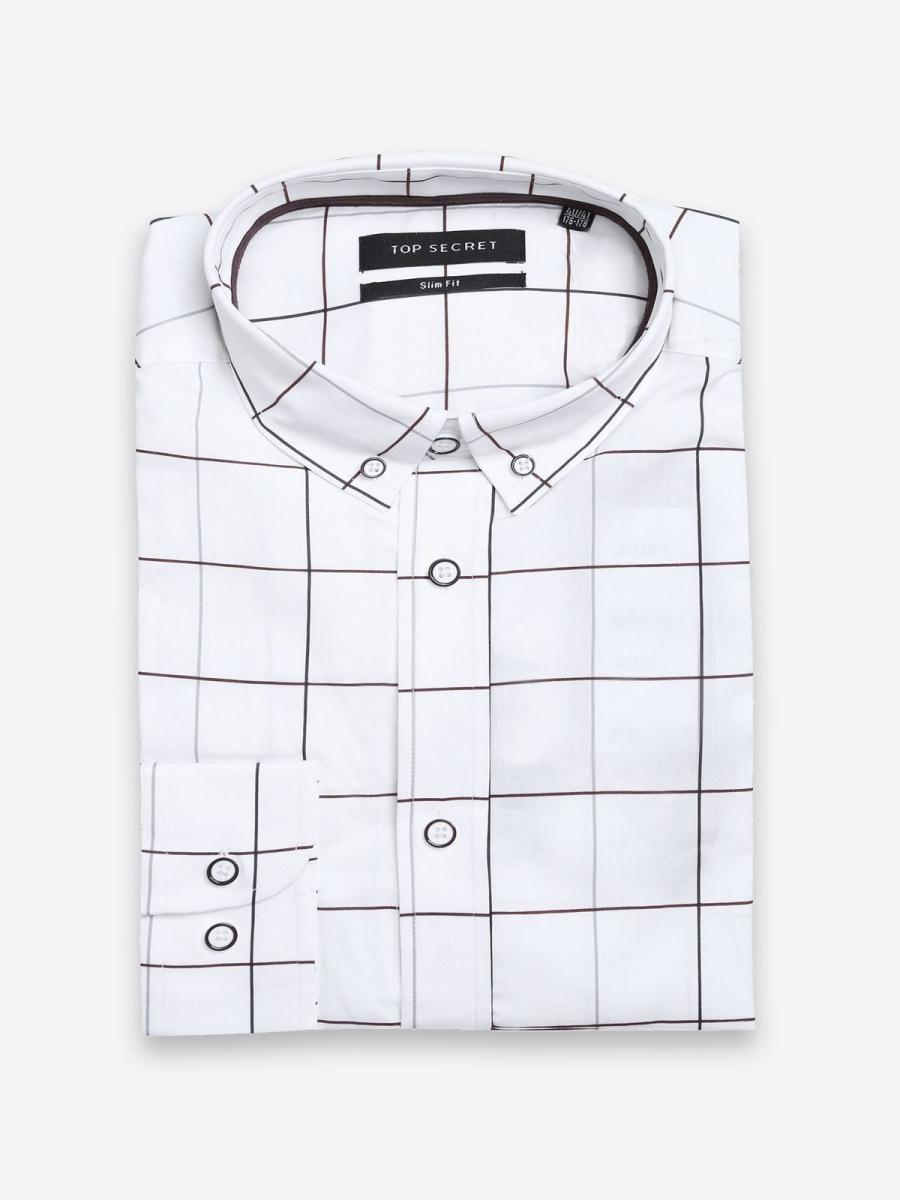 31c85004605 Top Secret Košile pánská dlouhý rukáv