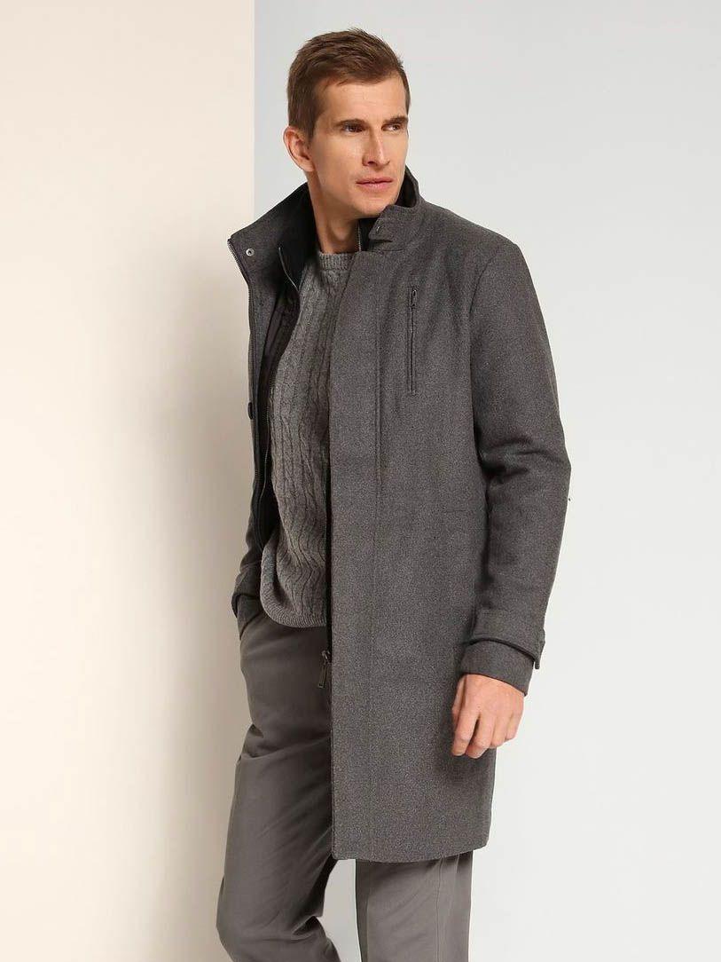 Top Secret Kabát pánský - Světle šedá - velikost XXL