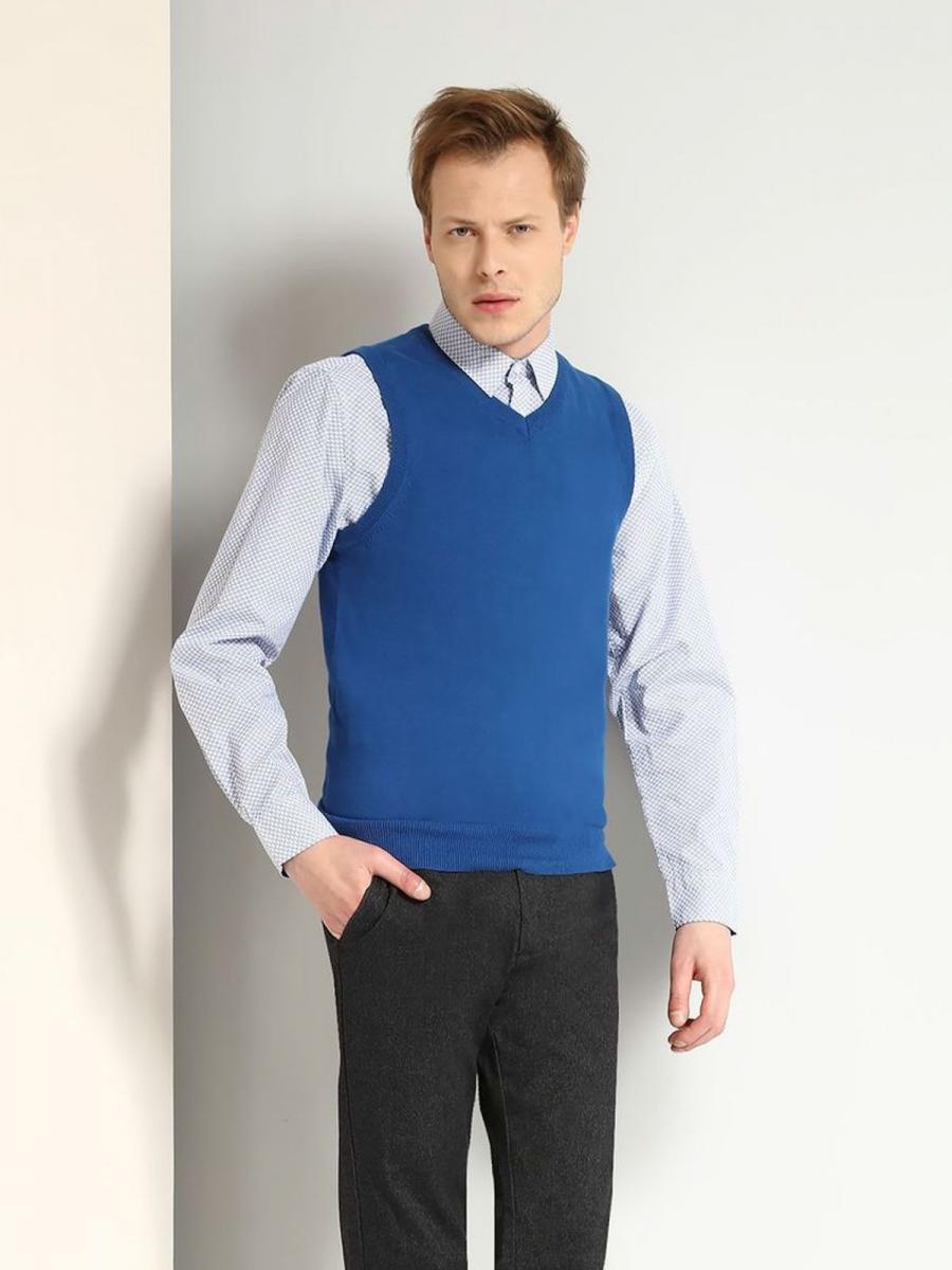 Top Secret Vesta pánská svetrová