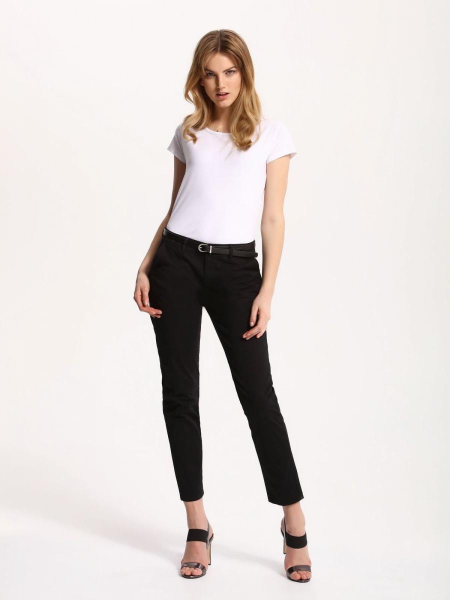 Top Secret Triko dámské bílé krátký rukáv - Bílá - velikost 38