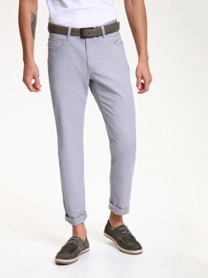 Kalhoty pánské bavlněné šedé