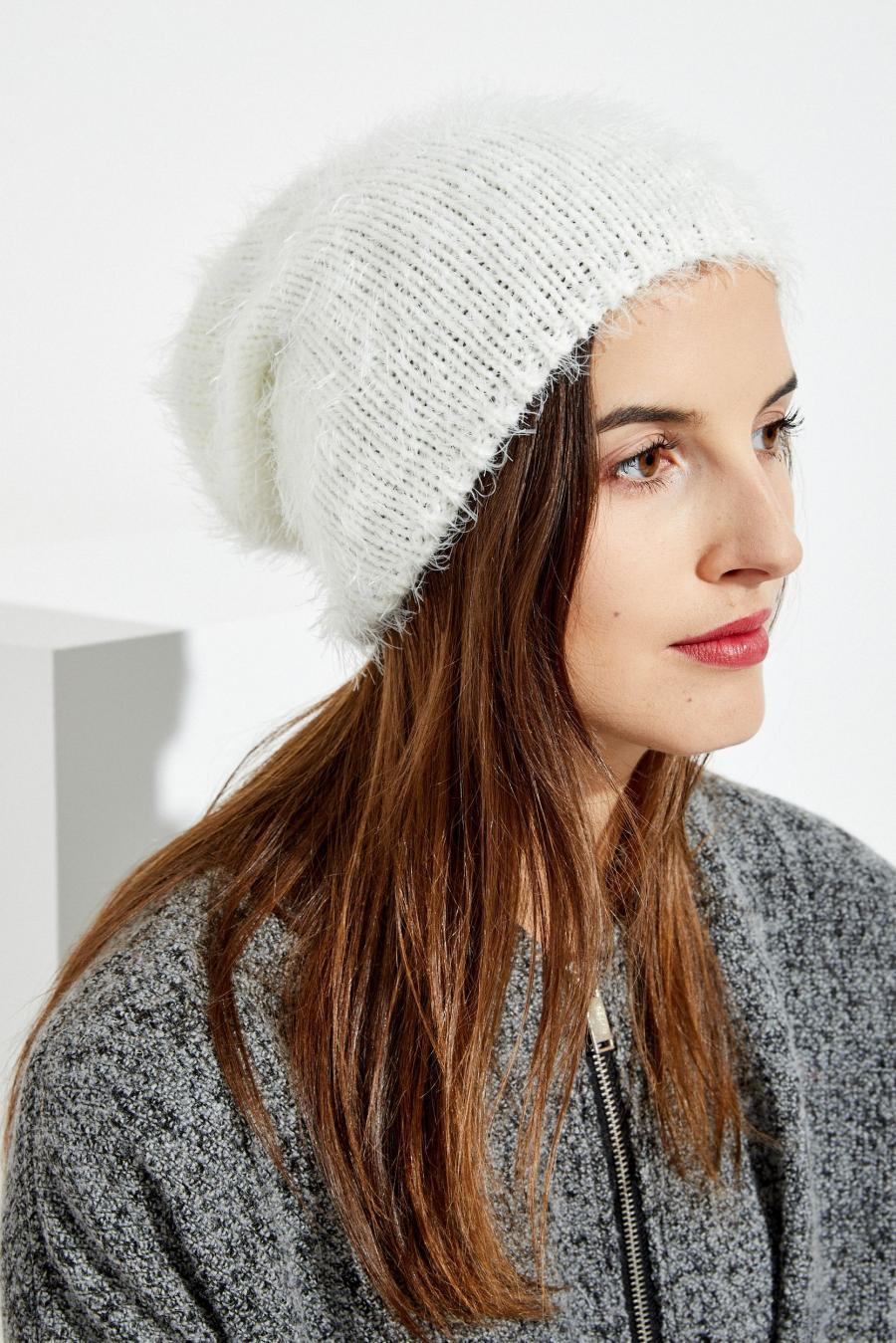 Moodo čepice dámská - Bílá