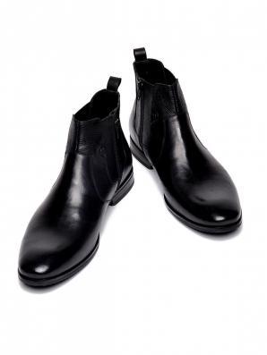 Boty pánské kožené