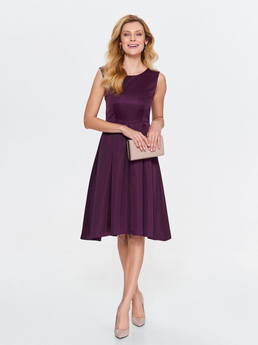 Top Secret šaty dámské fialové