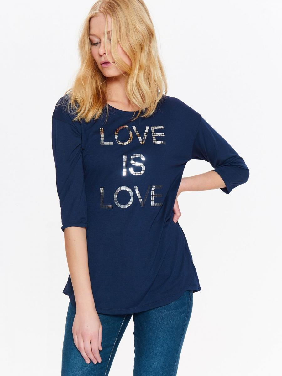 Top Secret Triko dámské LOVE IS LOVE 3/4 rukáv