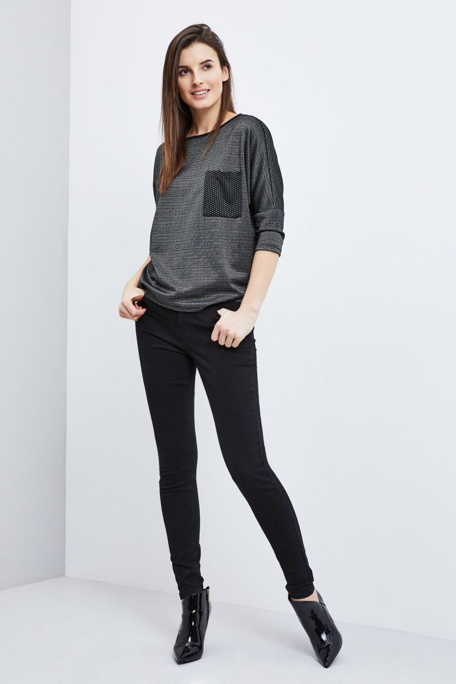 Moodo Kalhoty dámské - černá - velikost M