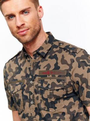02c0f7827 Košile pánská maskáčová s krátkým rukávem Košile pánská maskáčová s krátkým  rukávem ...