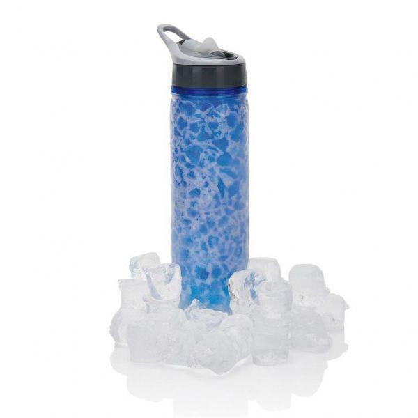 Loooqs Chladící láhev Frost, 550 ml - Modrá