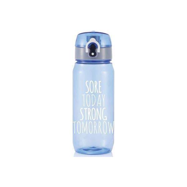 Loooqs Sportovní láhev Today Tomorrow, 600 ml - Modrá
