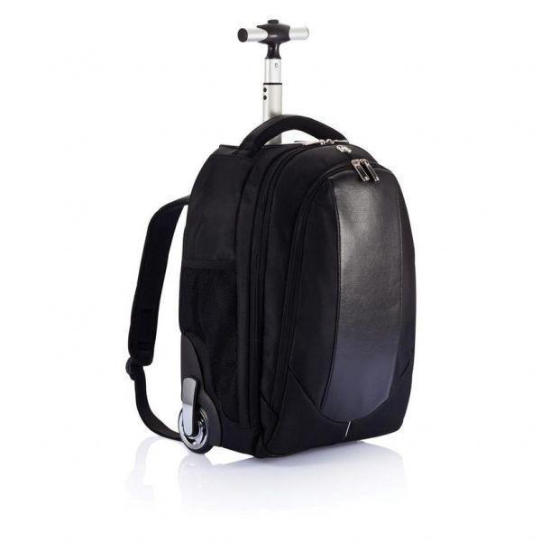 Swiss Peak Cestovní batoh na kolečkách - černá 929181f6e5