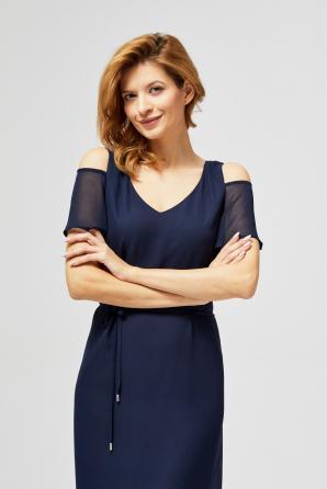 Šaty dámské REWYS s krátkým rukávem MAXI