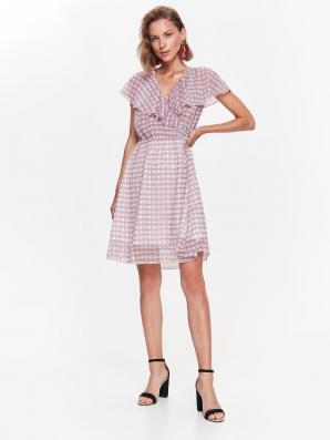 Šaty dámské růžové