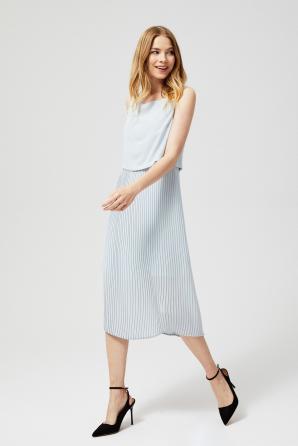 Šaty dámské ELIS plisované MIDI