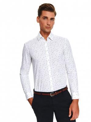 Košile pánská STYLO II shaped fit s dlouhým rukávem