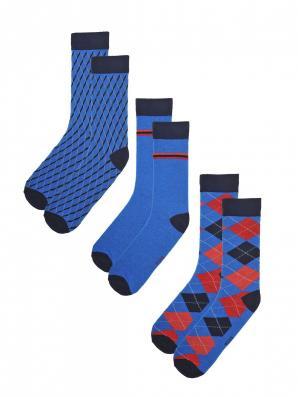 Ponožky pánské 3 páry