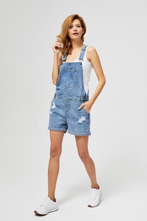 Kraťasy dámské s laclem FIRETA II jeans