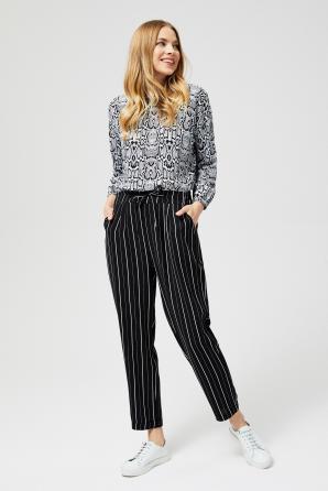 Kalhoty dámské SPINY pruhované