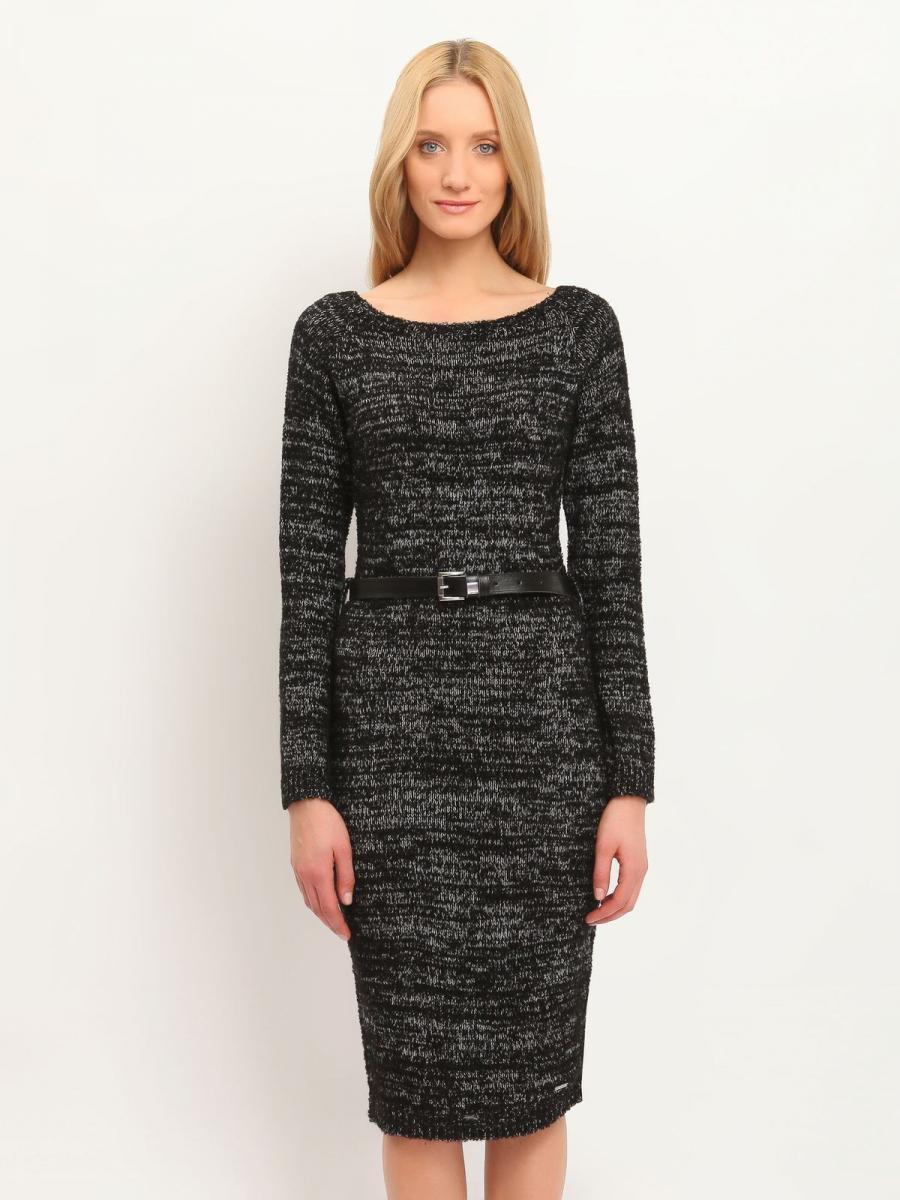 Top Secret šaty dámské pletené dlouhý rukáv poslední kus