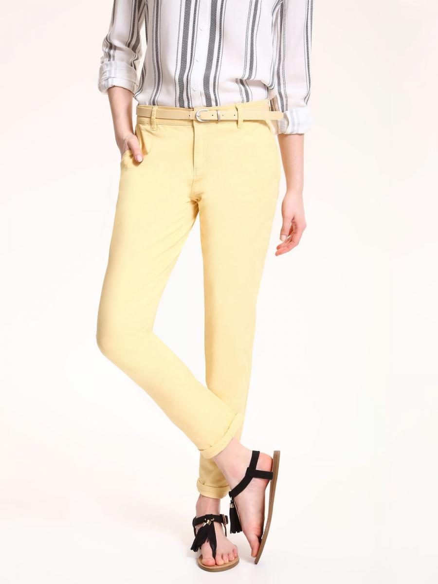 Top Secret Kalhoty dámské s páskem poslední kus