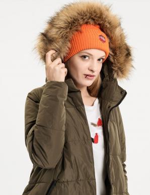 Bunda dámská LEVIOSA s kožíškovou kapucí