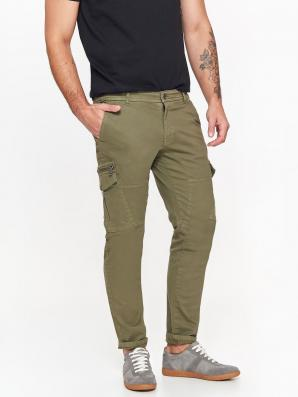 Kalhoty pánské khaki kapsáče