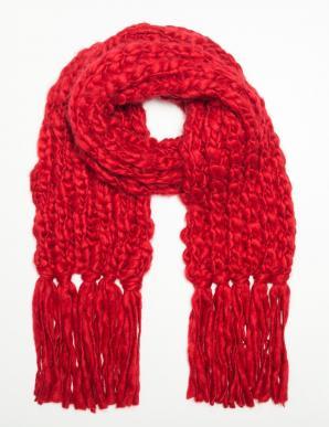 Šála dámská RUMBA červená vlněná