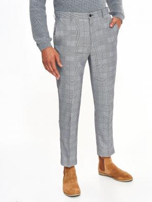 Kalhoty pánské kostkované