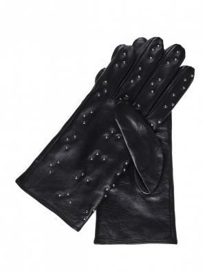 Rukavice dámské černé kožené