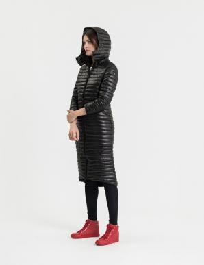 Kabát dámský LONGRETTA prošívaný s kapucí