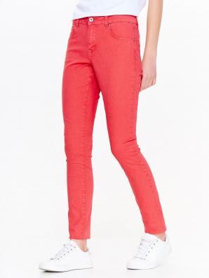 Kalhoty dámské červené
