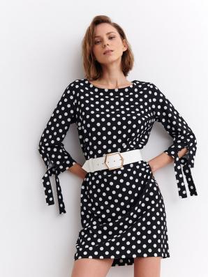 Šaty dámské s puntíky