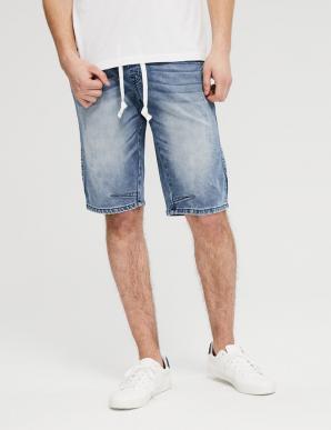 Kraťasy BARRY SH VI BLUE pánské jeans