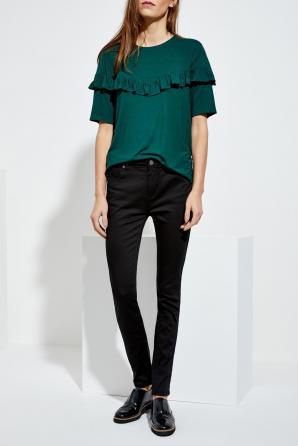 Kalhoty dámské jednobarevné