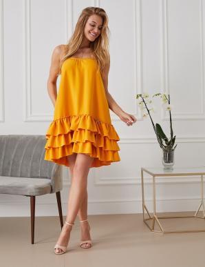 Šaty MISHA SIREN dámské one size