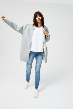 Kabát dámský zateplený