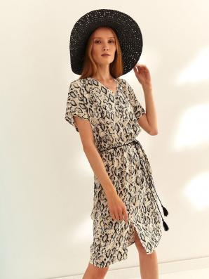 Šaty dámské GEPARKY VI s krátkým rukávem
