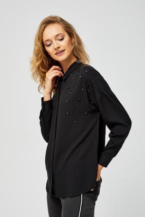 Košile dámská s perličkama